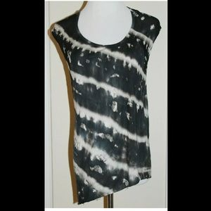 Young Fabulous And Broke Black/White Tye Dye M